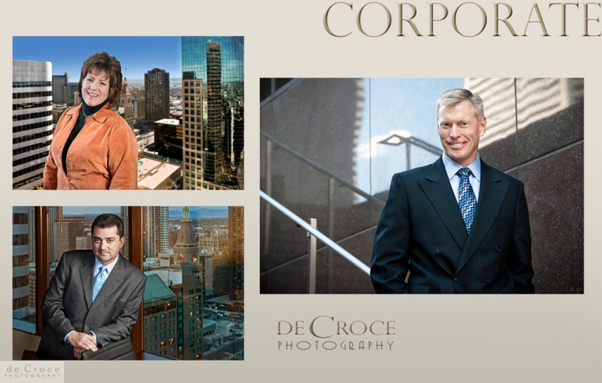 Executive business photo portraits in Denver Colorado