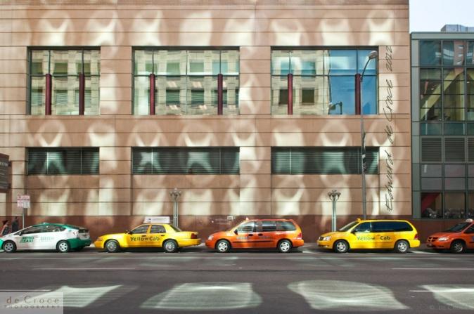 Downtown Denver taxi line
