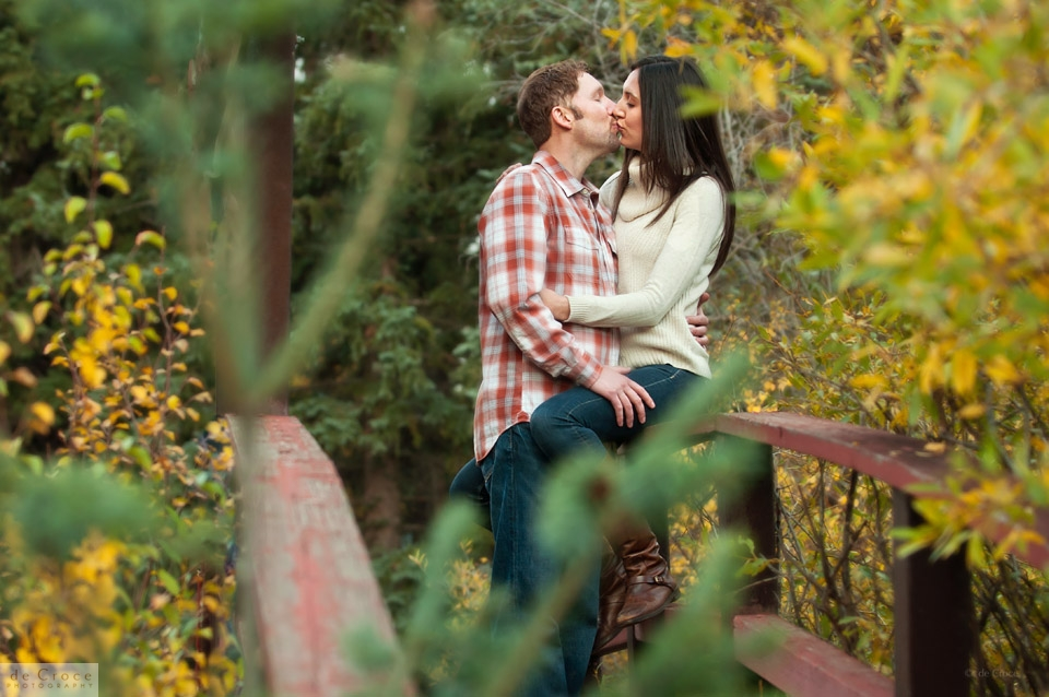 wedding engagement photo Colorado