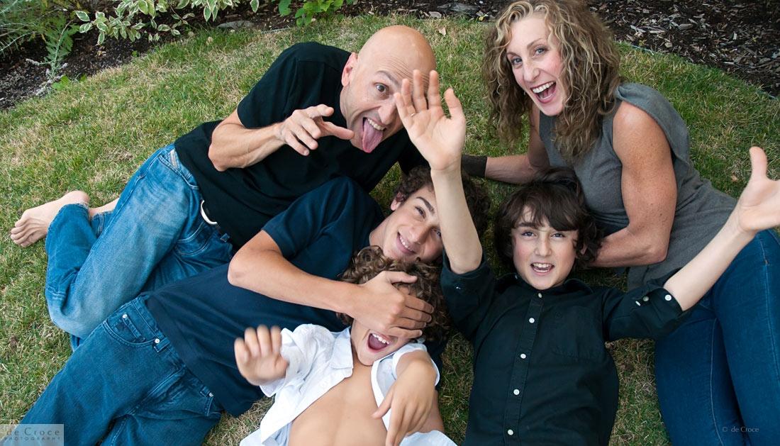Professional family photo Denver