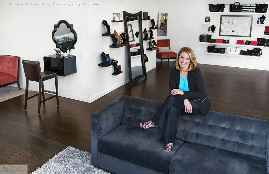 Keri Blair in her Cherry Creek location - The Style Studio by Keri Blair.