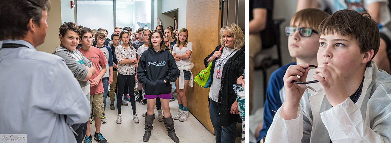 Bell Middle School Tour Gates Biomanufacturing Facility